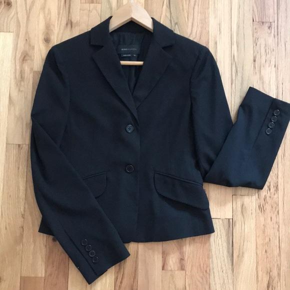 BCBGMaxAzria Jackets & Blazers - BCBG Black fitted career blazer